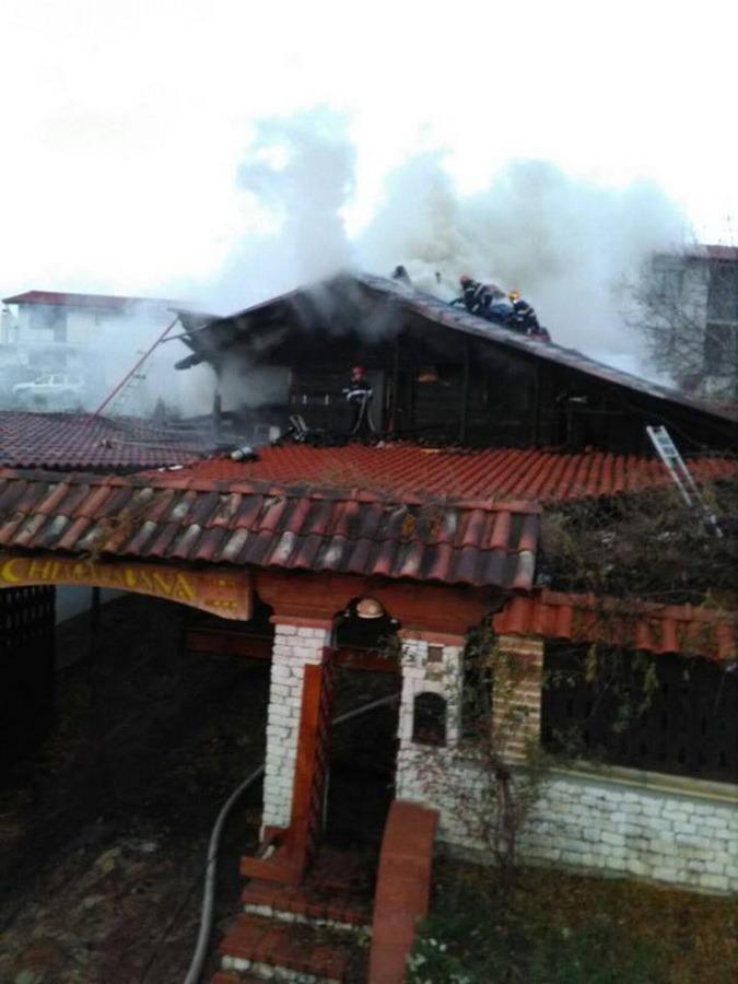 Incendiu Paleu (foto: ISU Crișana)