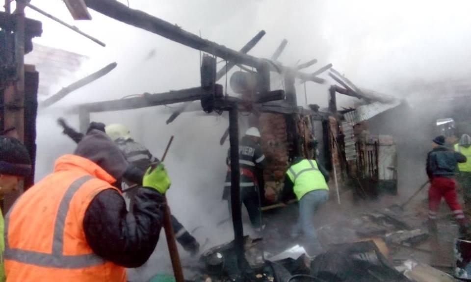 Incendiu Meziad (foto: ISU Crișana)
