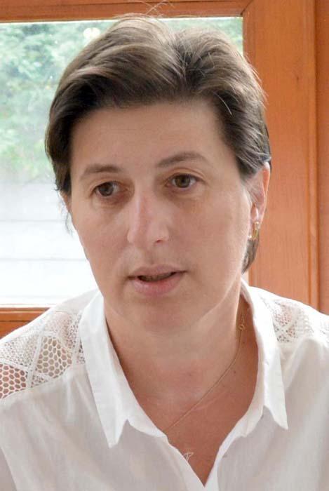 Eva Iova Șimon, redactorul șef al Foii Românești din Gyula