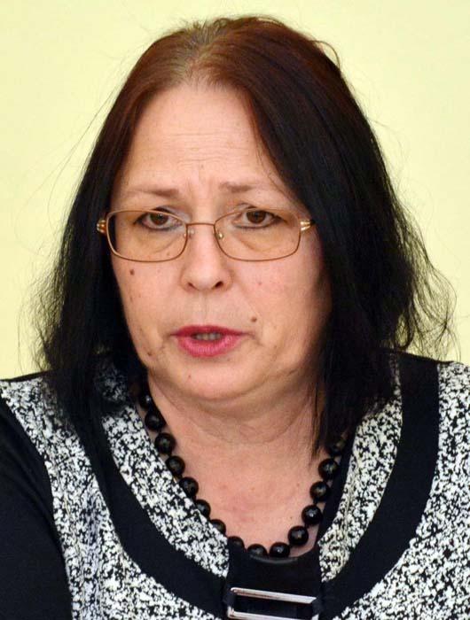 Danila Rahotă, șefa Direcției de Sănătate Publică Bihor