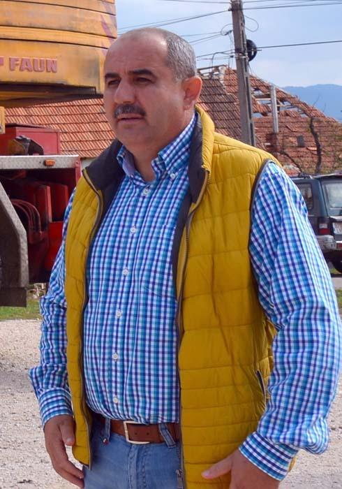 Gheorghe Bota, primar Rieni