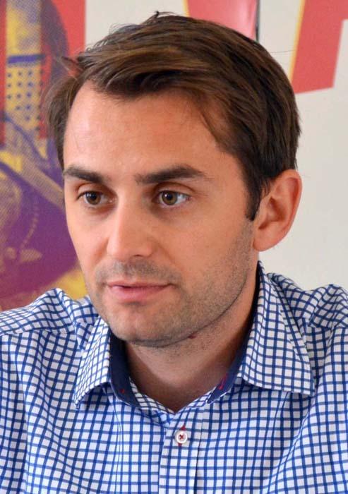 Mihai Jurca, director Asociaţia pentru Promovarea Turismului din Oradea şi Regiune APTOR