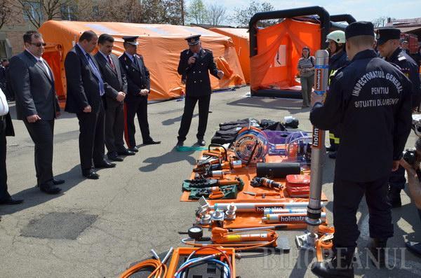 ISU are maşină de intervenţii în caz de accidente nucleare