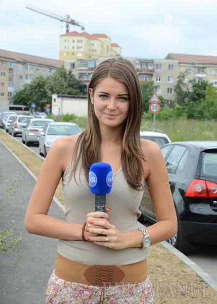 Yvette Mîrza, fata care aduce ştirile