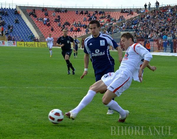 După un meci slab acasă, FC Bihor pierde poziţia de lider al clasamentului