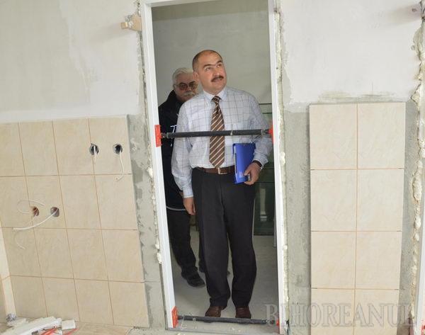Modernizarea Spitalului Municipal, gata la sfârşitul lunii