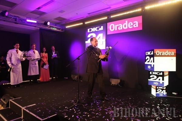 Digi 24 Oradea a început emisia: Primul jurnal, proiectat în direct la evenimentul de lansare