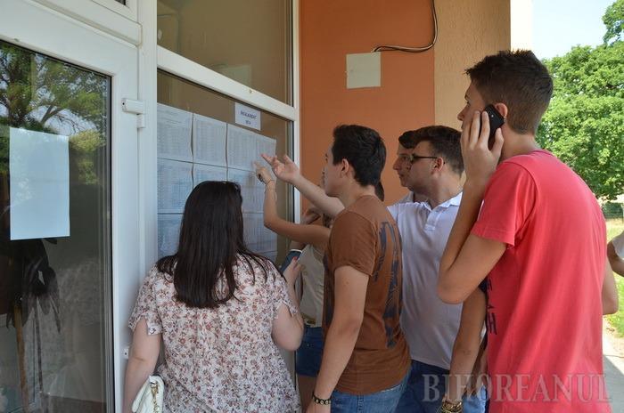 Mai puţin de 58% din elevii bihoreni au promovat Bacalaureatul