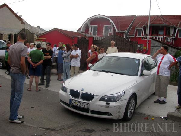 Accident cumplit în Oradea: cu 160 km/oră, un Mercedes a spulberat un Tico. O tânără a murit, iar altele două se zbat între viaţă şi moarte