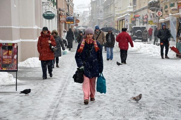 Oradea sub nămeţi