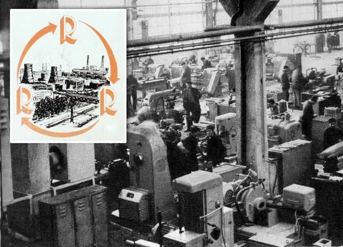 NIMIC NU SE PIERDE, TOTUL SE TRANSFORMĂ. În întreprinderile comuniste nu era voie să se piardă nimic. De nevoie, muncitorii de la Înfrăţirea Oradea (foto) reciclau toate deşeurile, întrucât materia primă nu era niciodată suficientă...