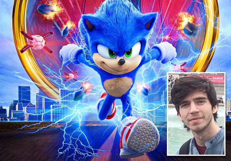 """PRIETENOS ŞI IUTE. Ariciul albastru Sonic este un personaj îndrăgit de generaţii întregi de copii, """"născut"""" într-un joc video al companiei japoneze Sega, în 1991. În noua premieră cinematografică, orădeanul Alin Bolcaş (medalion) l-a făcut să fie mai modern..."""