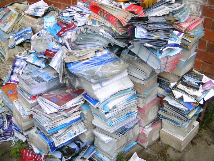Concurs de colectat hârtie, pentru elevi şi preşcolari