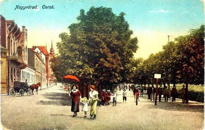 Oradea ieri, Oradea azi: Parcul Libertăţii