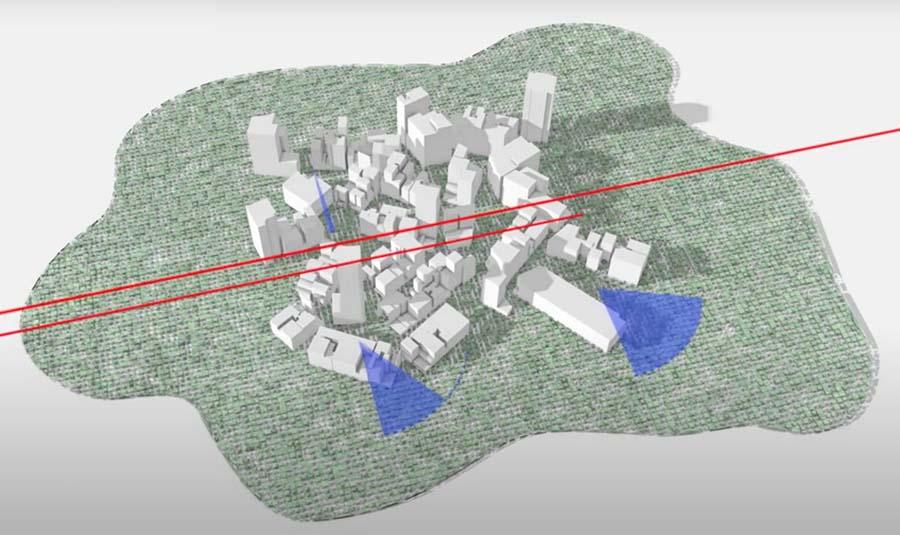 """Oraş în """"linie"""" verde: Prinţul moştenitor din Arabia Saudită vrea să construiască un oraş revoluţionar (VIDEO)"""