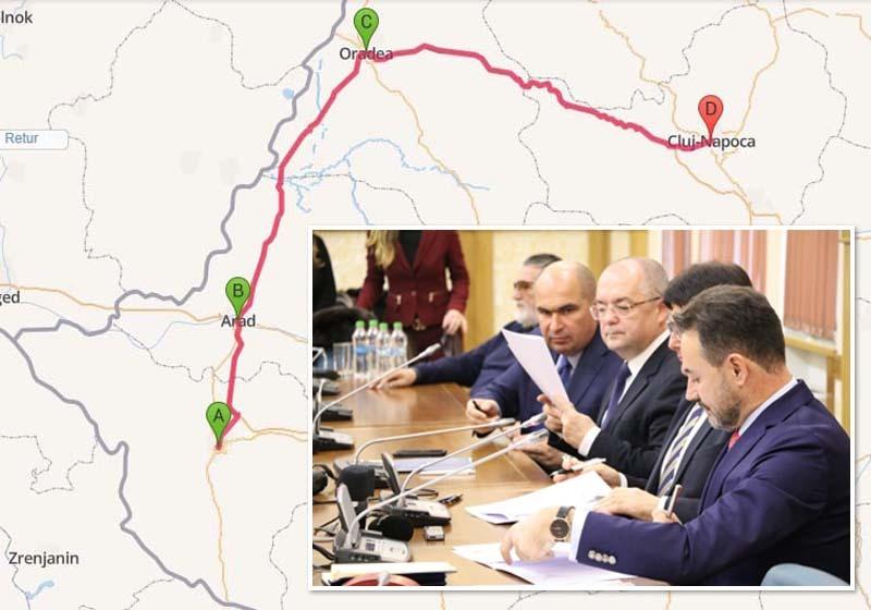 """PE DRUMUL BUN. Alianţa Vestului, întemeiată sâmbătă (foto), vizează investiţii masive în infrastructură, pentru că banilor nu le place să stea blocaţi în trafic. """"Dacă ar exista un tren expres care să pornească din 3 în 3 ore, ar circula mult mai mulţi oameni. Studenţii ar ajunge mai repede la facultăţile din Cluj şi Timişoara, turiştii ar veni mai uşor la Băile Felix sau Oradea, oamenii de afaceri s-ar deplasa mai uşor pe unde au treabă, iar acest lucru va genera dezvoltare"""", spune primarul Ilie Bolojan"""