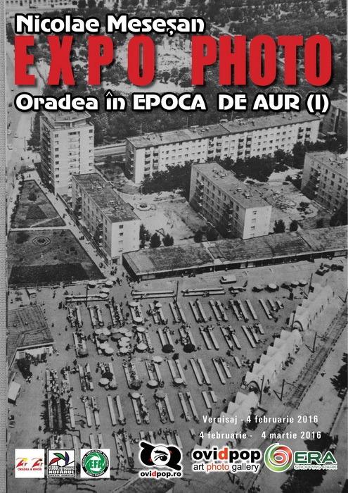 Oradea în Epoca de Aur: Un fost fotoreporter orădean prezintă imagini cu oraşul din anii comunişti