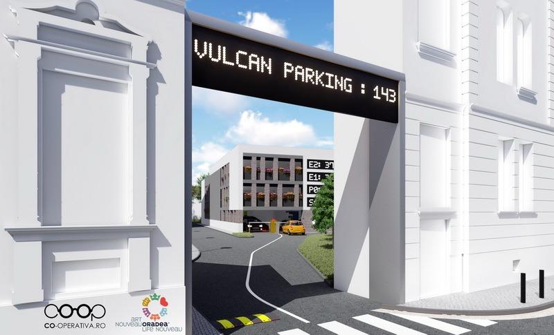 Viitoarea parcare supraetajată din strada Iosif Vulcan, estimată la 13,5 milioane lei (FOTO)