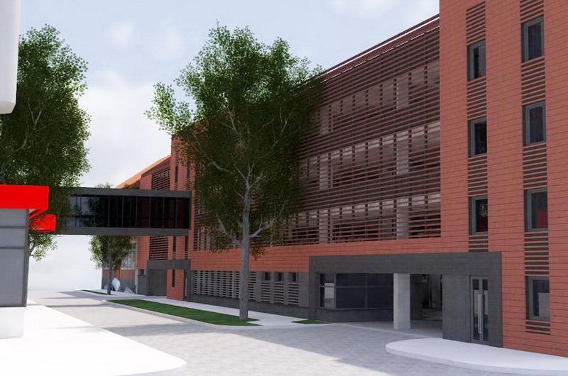 Parcarea supraetajată din strada Braşovului va trebui finalizată în termen de un an