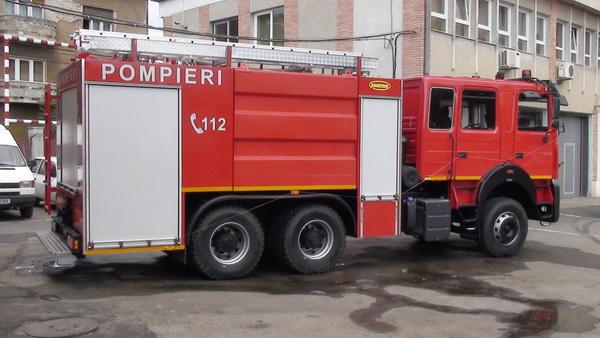 Încă o autospecială pentru pompierii orădeni