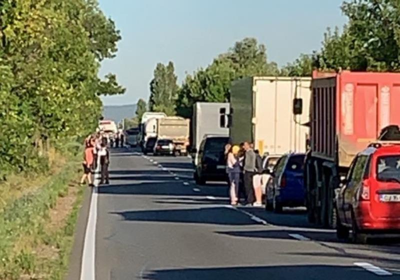 foto: Facebook / grupul Infotrafic al județului Cluj, Florin Popp