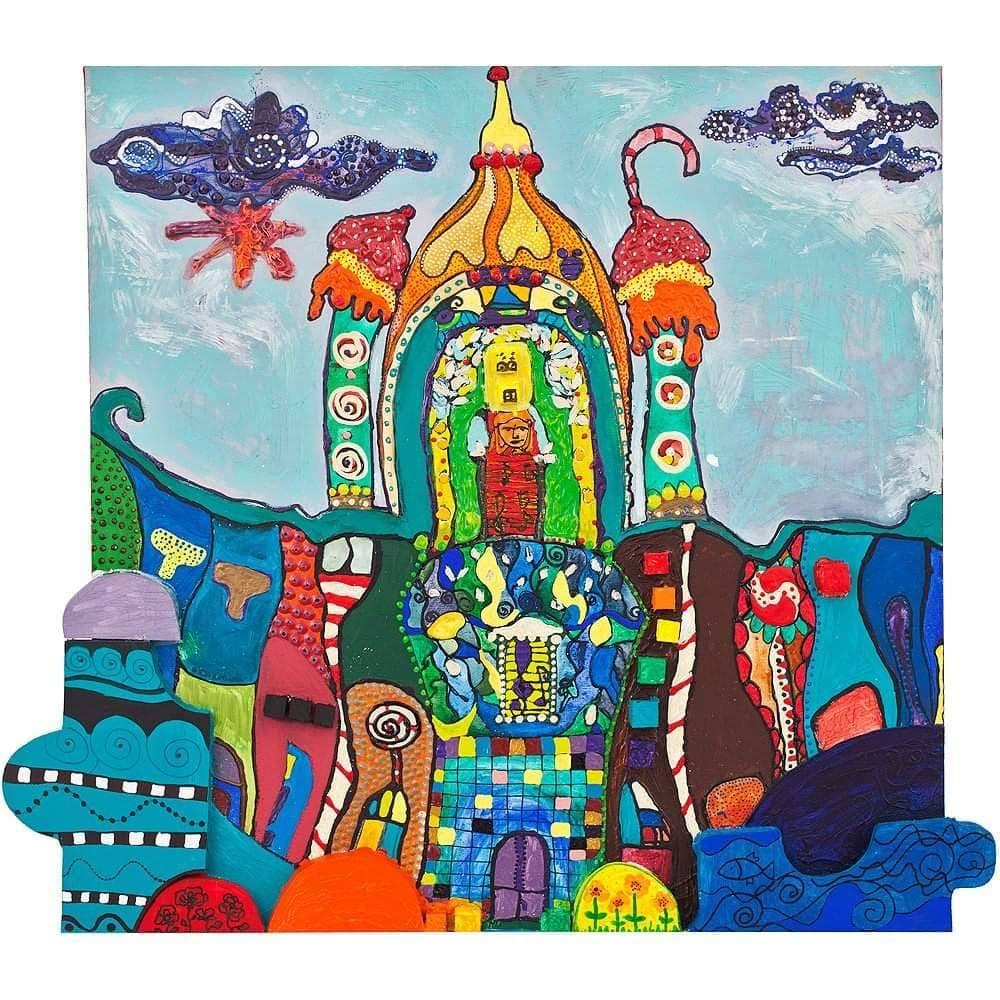 O expoziţie inedită de pictură, la Teatrul Regina Maria: Oradea mea de turtă dulce