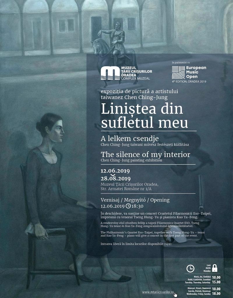Liniştea din sufletul meu: Expoziţie a pictorului taiwanez Chen Ching-Jung, în cadrul European Music Open