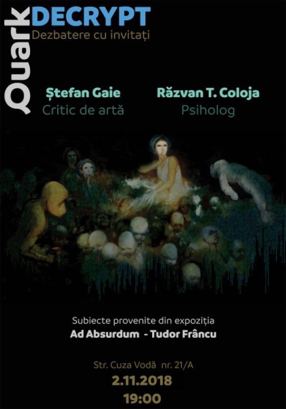 Expoziția Decrypt, a pictorului orădean Tudor Frâncu, intră în... dezbatere