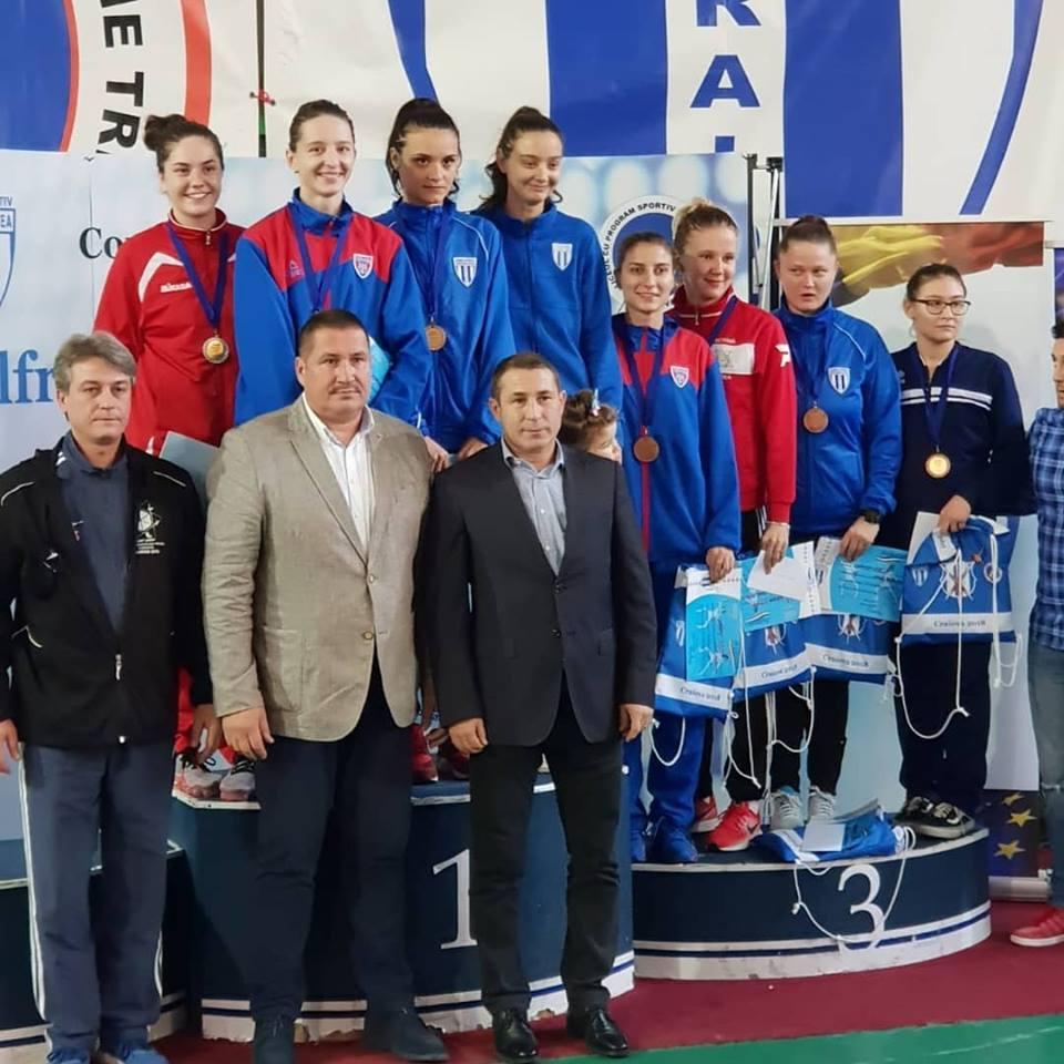 Bianca Benea s-a clasat pe locul VI la Trofeul Internaţional de Spadă pentru seniori Alfredo Bachelli