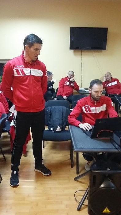 Arbitrii bihoreni, în cantonament la Vadu Crişului (FOTO)