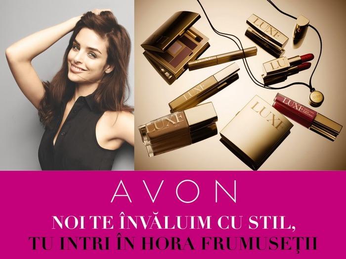Doar în weekend, gratuit! Avon te învăluie cu frumuseţe la Lotus Center