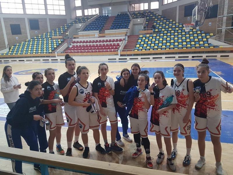Victorii importante pentru baschetbalistele U15 de la BCU Oradea