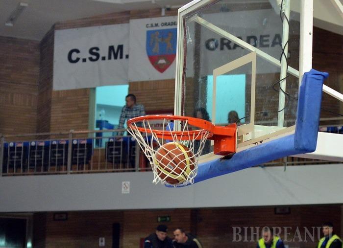 CSM CSU Oradea s-a impus la o diferenţă de 16 puncte în ultimul joc de pe teren propriu din acest an