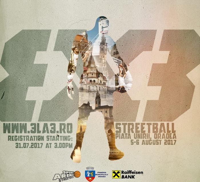 Au început înscrierile pentru prima ediţie a Streetball Arena în Piaţa Unirii
