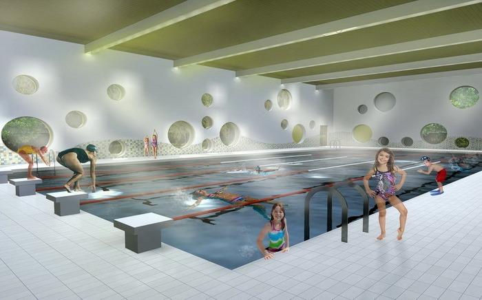 Primele bazine didactice de înot din judeţ vor fi făcute la Săcueni şi Nucet. Vezi cum vor arăta! (FOTO)