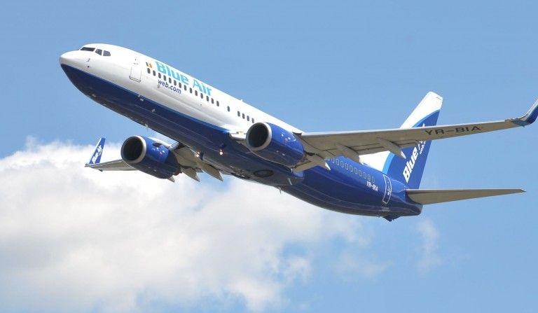 Un nou incident în aer: Avion Blue Air, interceptat de avioane militare ungare
