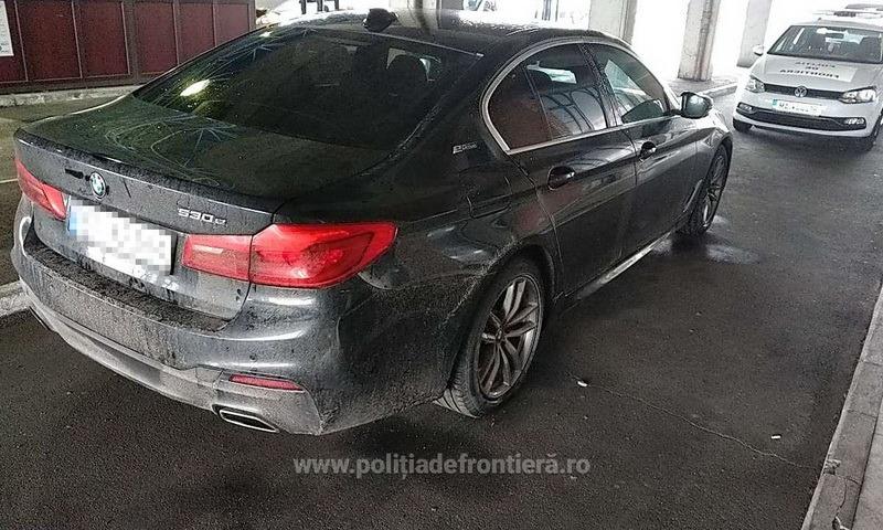 Nu doar coronavirus: Poliţiştii de frontieră din Borş au găsit un BMW de 70.000 de euro tocmai furat din Norvegia
