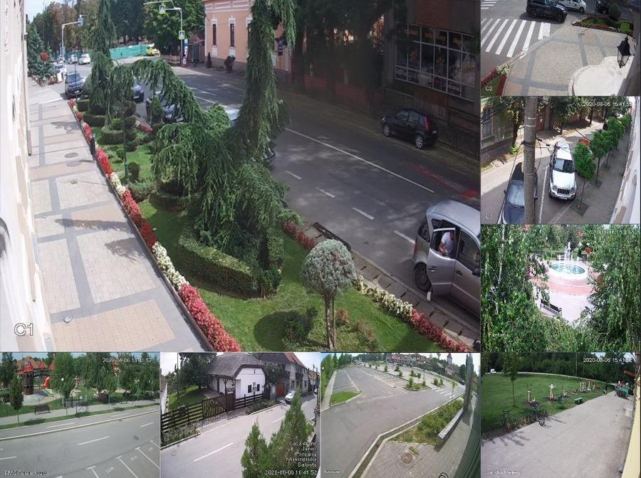 Ochii orașului: În Salonta se montează 30 de camere de supraveghere noi