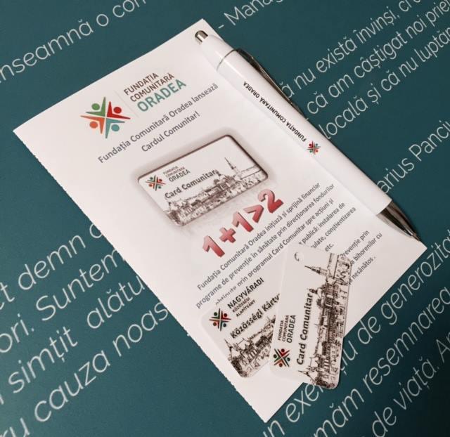 S-a lansat Cardul comunitar: faci cumpărături şi donezi bani pentru două defibrilatoare mobile