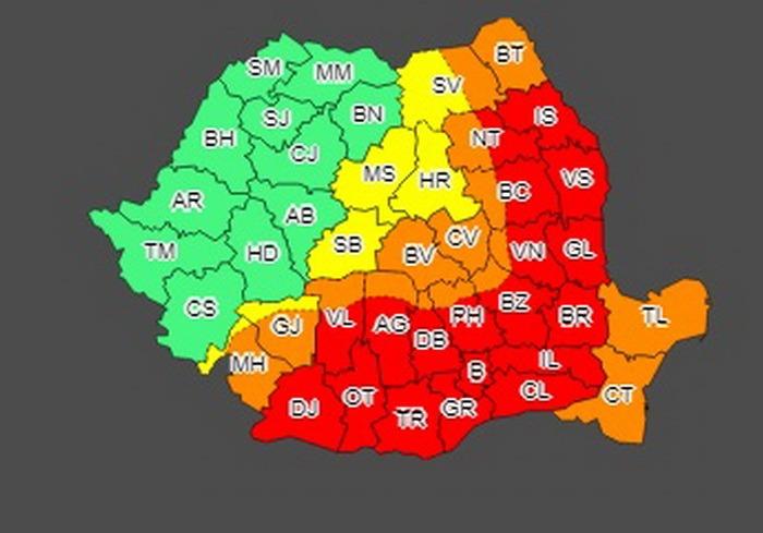 România fierbe: COD ROŞU de caniculă în jumătate din ţară!
