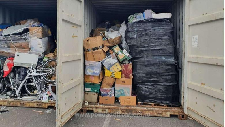 România, lada de gunoi a Europei! Cel puţin 50 de containere cu deşeuri din Marea Britanie au ajuns în ţară