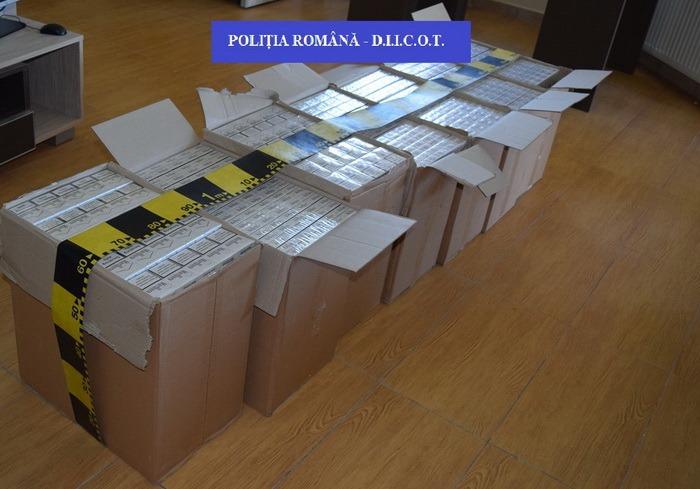 Percheziții DIICOT Oradea: peste 300.000 de ţigări, 2,7 kg de canabis și maşini adaptate pentru contrabandă au fost ridicate! (FOTO)