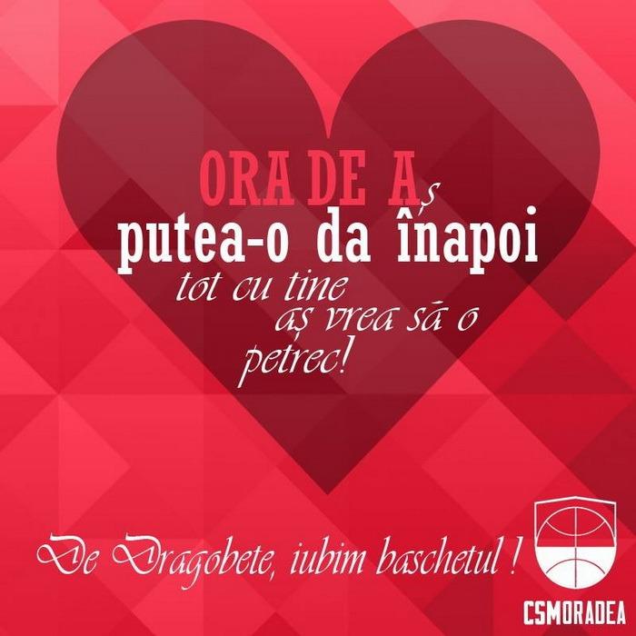 Baschet şi iubire: De Dragobete, CSM Oradea îşi complimentează fanele cu mesaje haioase (FOTO)