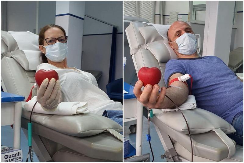 Se recoltează plasmă cu anticorpi în Bihor: Doi bihoreni care s-au vindecat de Covid-19 au donat sânge pentru a ajuta bolnavii în stare critică (FOTO)