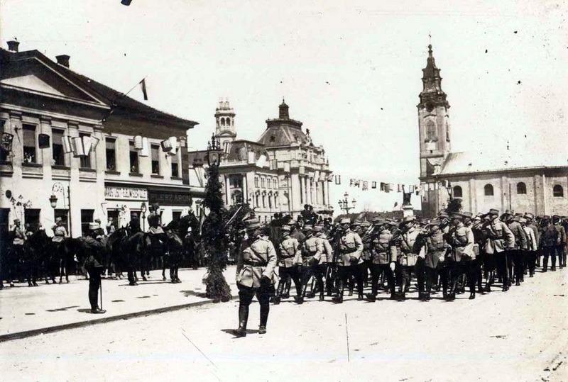 Pe 20 aprilie 1918, în zi de paşte, militarii români, conduşi de generalul Traian Moşoiu, au eliberat Oradea de sub ocupaţie străină