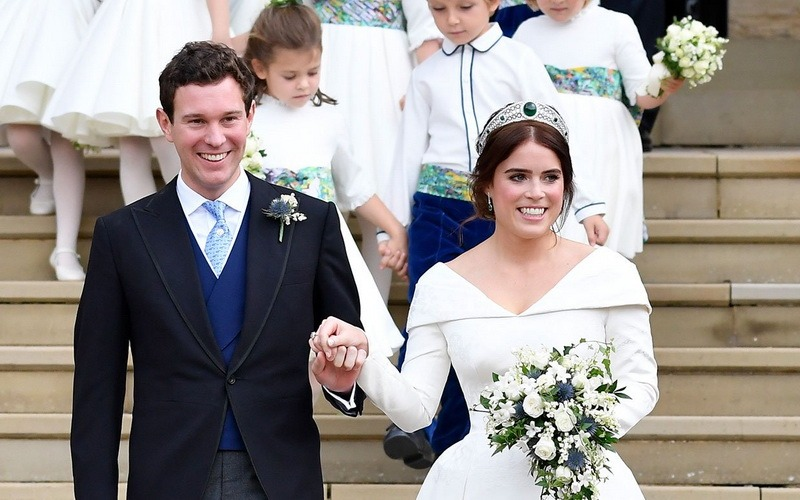 O Noua Nunta Regala Prințesa Eugenie A Marii Britanii S A Casatorit