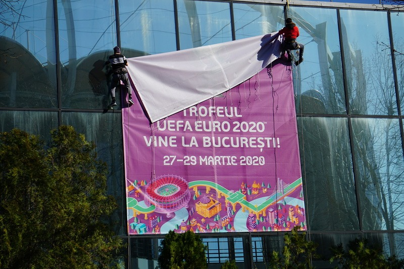 Campionatul European de Fotbal 2020 a fost anulat! Champions League și Europa League, suspendate