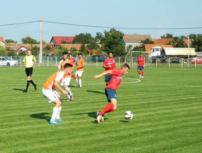 FC Bihor a deschis seria jocurilor amicale cu o victorie clară la Sântandrei