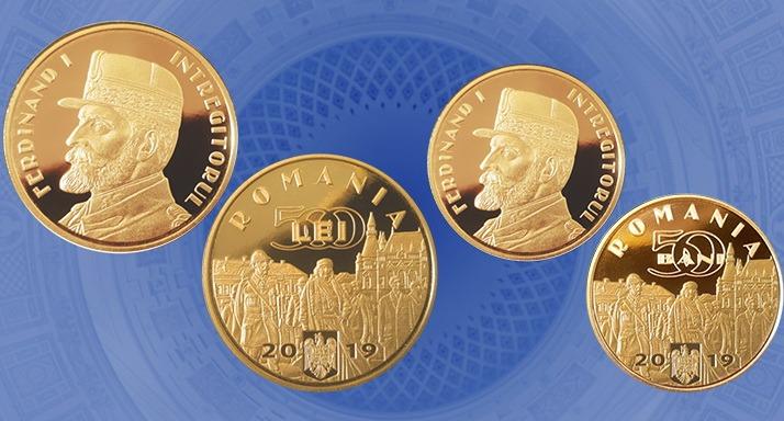 Oradea, gravată pe bani! O imagine din centrul oraşului apare pe noile monede de 50 de bani