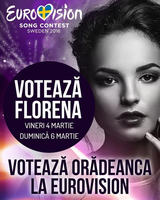 Susţine-o pe orădeanca Florena în semifinala Eurovision România! (VIDEO)